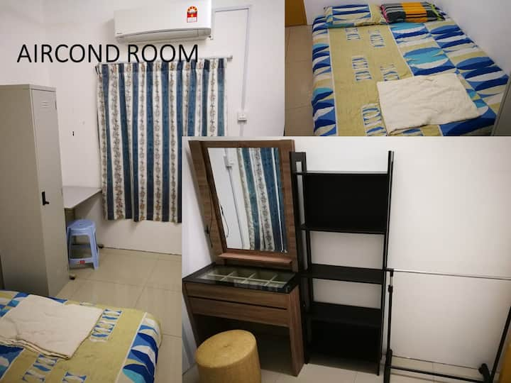 Room to rent Banting(AirCond,Astro,fullyfurnished)