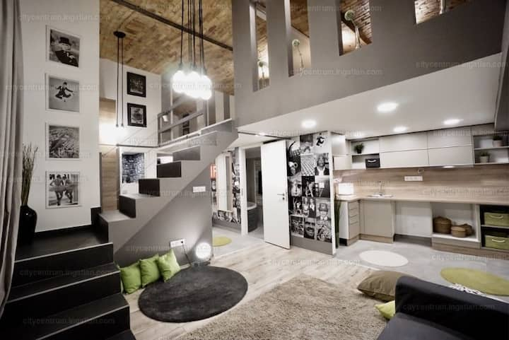 Modern flat in the heart of Budapest
