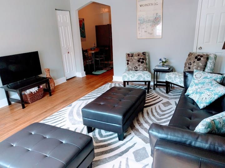 Renovated, Large, Modern Apartment; Pets welcome!