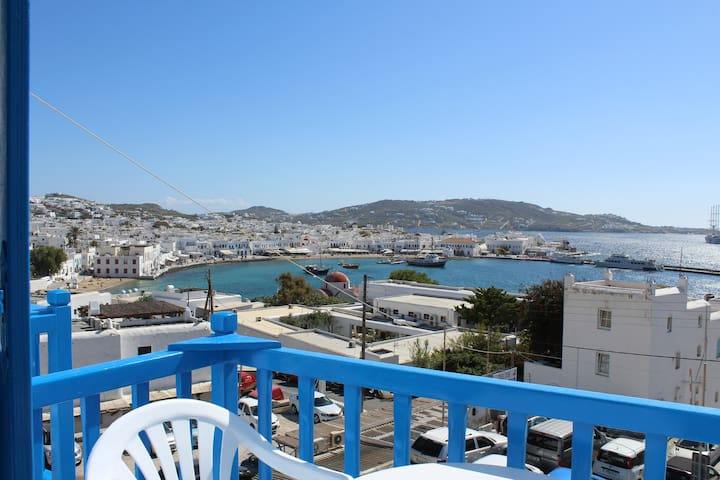 Stelios View Mykonos Town - Triple room sea view