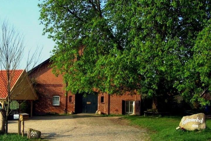 Ferien auf dem Lande -Der Kastanienhof Wg. 3