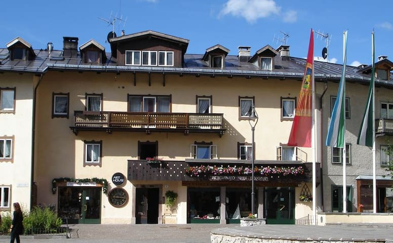 Appartamento su due piani nel cuore di Cortina. - Cortina d'Ampezzo - Appartement