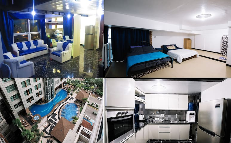 2 Floor Luxury Loft Condo City Center Cebu