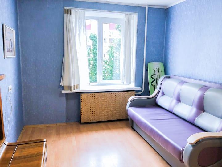 Уютная квартира у метро Новочеркасская