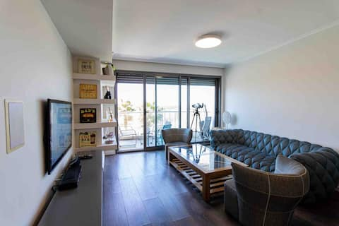 TLV West Hotel Luxury Apartment, Sea View!