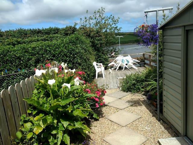 Garden and decking area