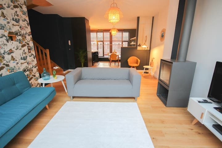 Heart of Lille - Wonderful house for 8 persons