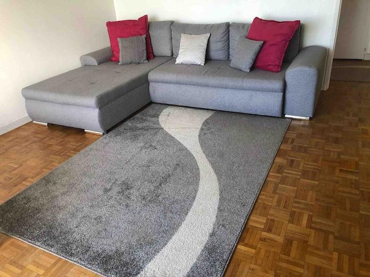 Apartment spacieux à 5 min de Genève