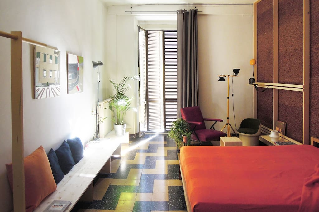 design doubleview flat apartments for rent in milano