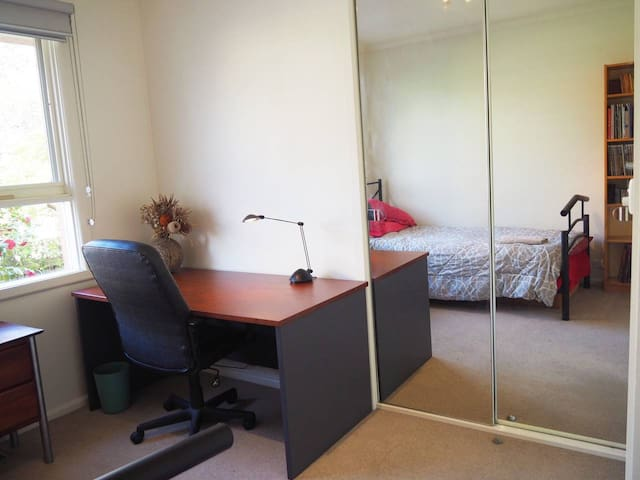 King Single 'Bedroom 2' with Desk and Wifi