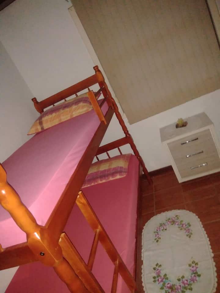Sinta-se em casa no Divas hostel.