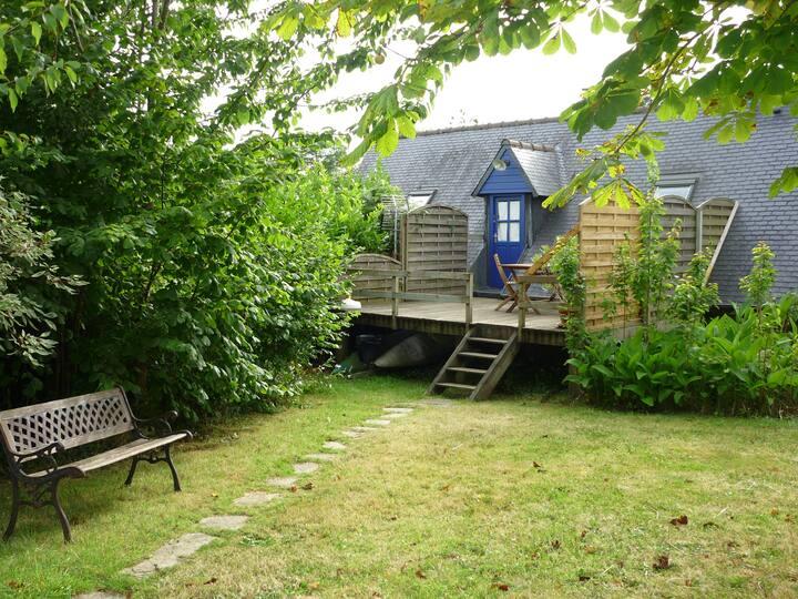Maison independante à louer  1,5 Km de la mer