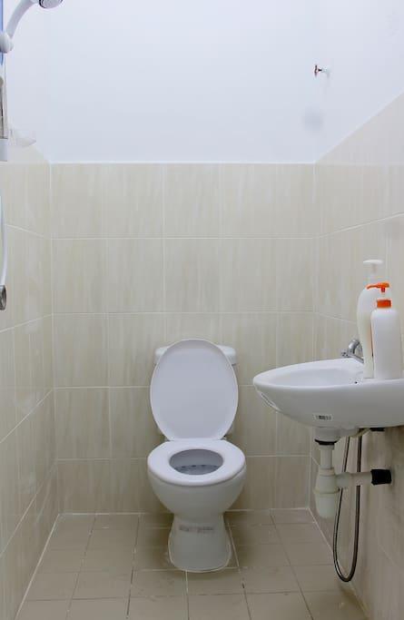 Clean & hygienic toilet