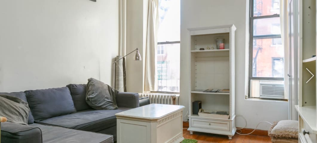 Real NYC living/Historic Renovated Lrg 2 Bedroom!