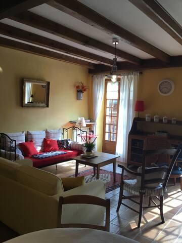 Maison de village entre Conques et Rodez