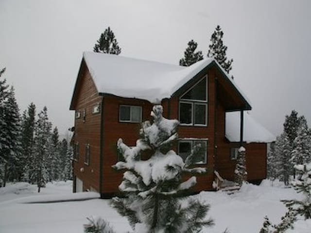 Magnificent Diamond Peak Cabin near Crescent Lake - Crescent - Srub