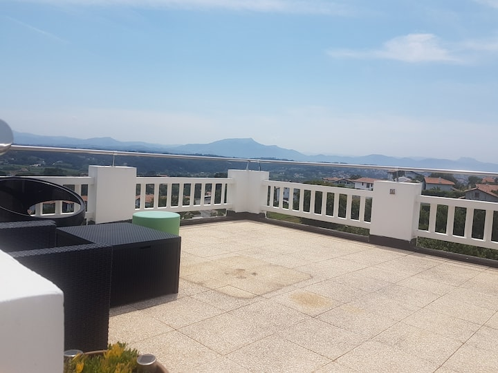 360° view with nice terrace