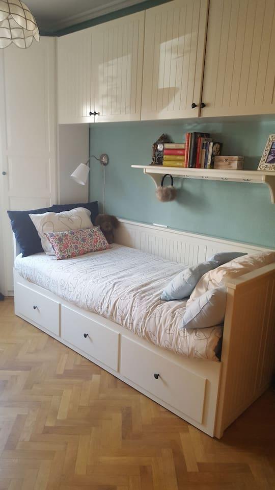 cama simple o doble