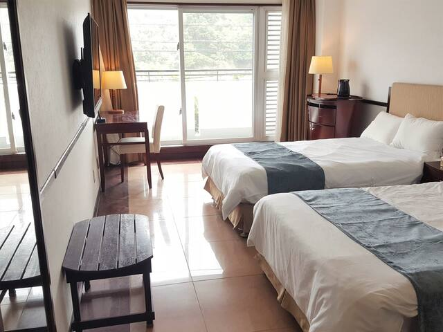 Ocean view! Higashison★Private room in Hotel!!TW