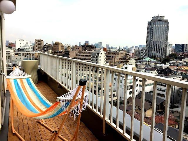 SHIBUYA-10min-Penthouse-Nice View- - 渋谷区 - Řadový dům