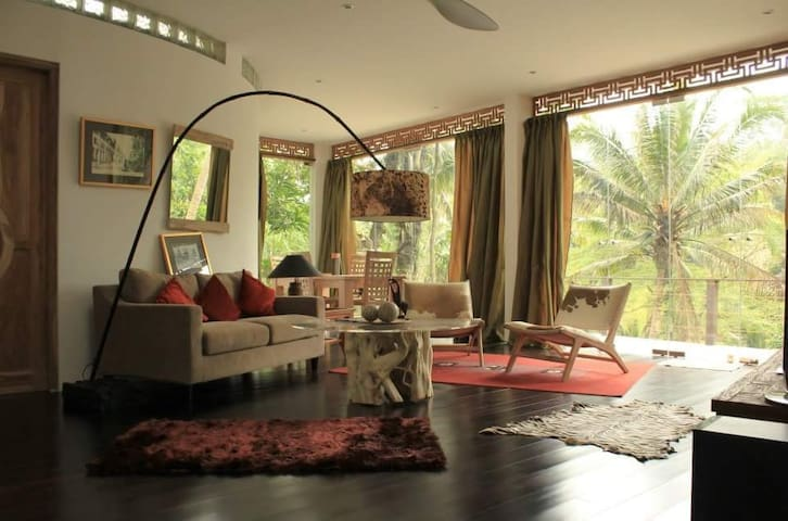 Jungle view apartment in Ubud/3 BR - Ubud - Appartement