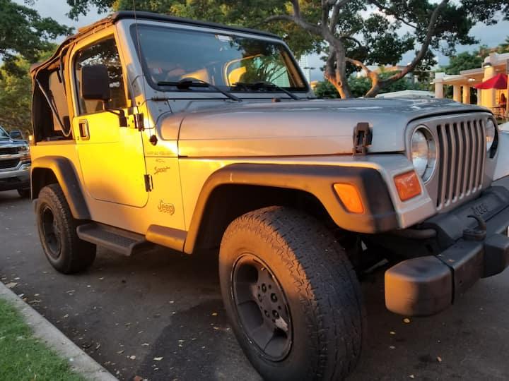 Experience Camping w/ Aloha! Jeep Wrangler Ready
