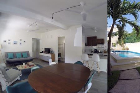 Condo súper equipado cerca de la playa y de 5ta Av - Playa del Carmen - Apartament