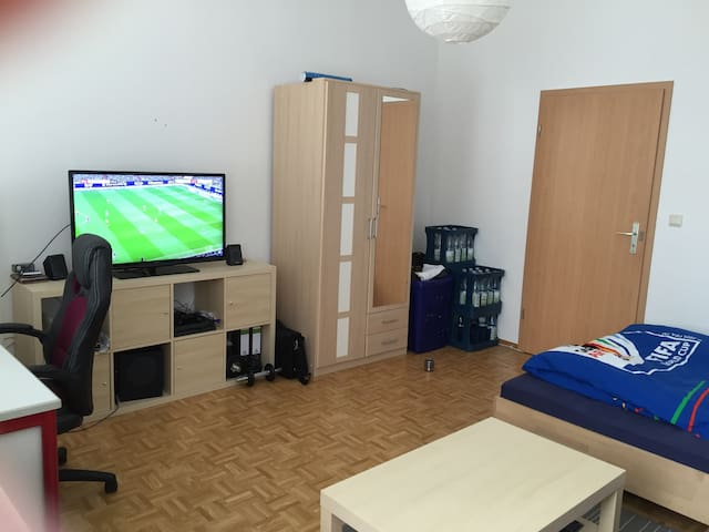 Fully equipped room in city center - Mannheim - Flat
