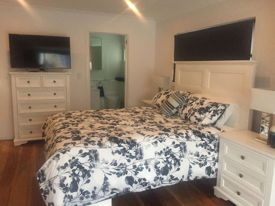 Upstairs master bedroom with own bathroom
