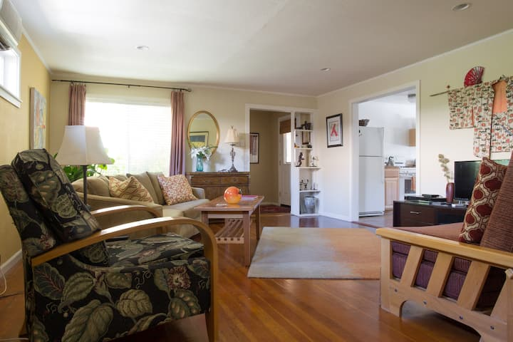 Private,  cottage/west side of town