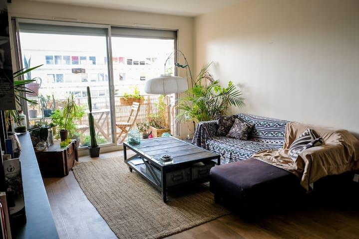 Charming apartment near parc de la Villette