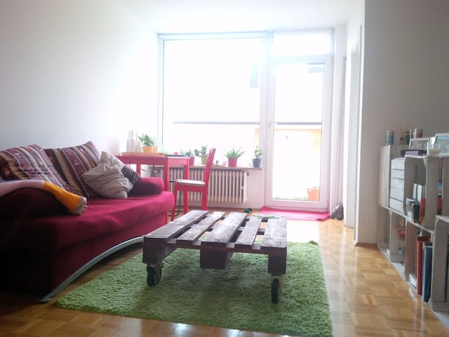 Studio with balcony - München - Appartement