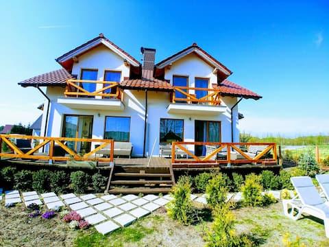 Rest in Manowo  - 2 domy nad Morzem Bałtyckim