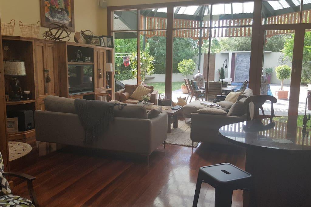 Main large living area