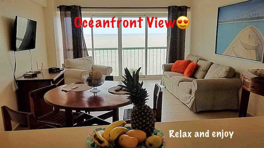Oceanfront HOME AWAY FROM HOME🤗