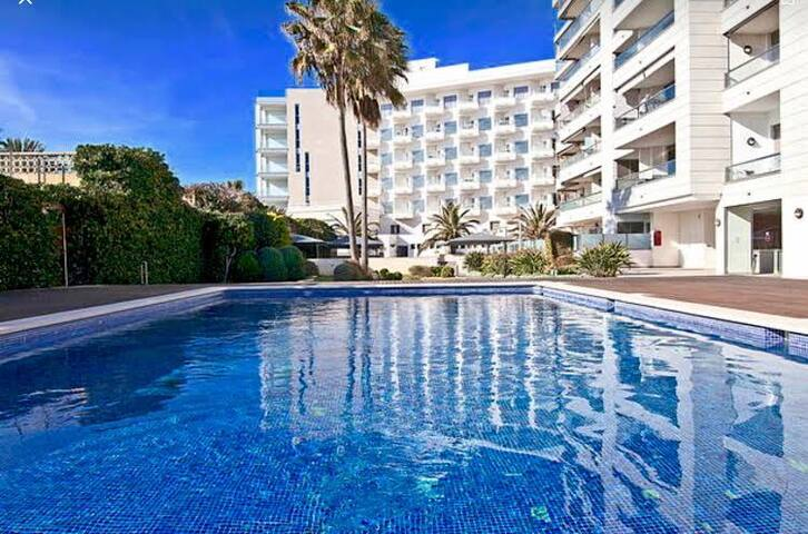 Apartamento primera línea de playa - Palma - Apartmen