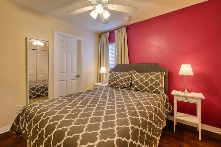 Suite number 2 with queen Bed