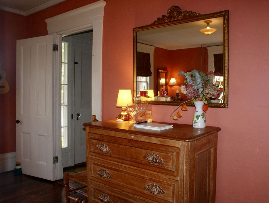 Room showing private entrance