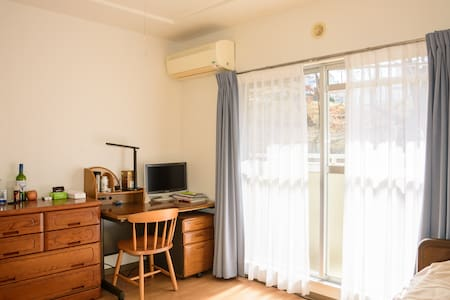 Share room and free bicycle,25min to Shinjuku - Apartmen