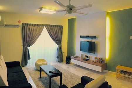 M Lodge l 3 Bedrooms+Free WIFI - Malaca - Apartamento