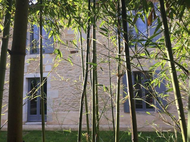 Villa Marcel - Piscine, spa, sauna, billard - Cérons - Rumah