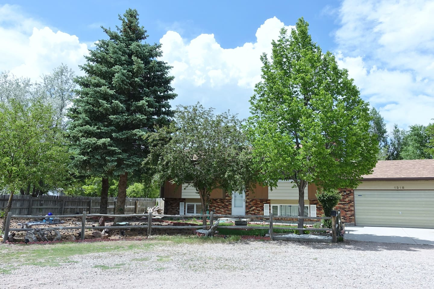 Front of House in June of 18