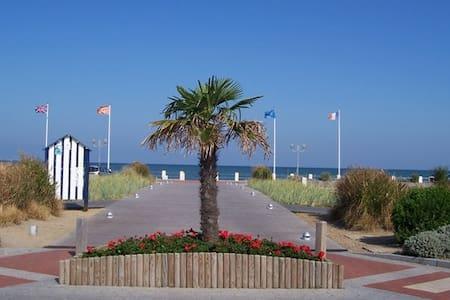 """F2 décoré """"mer"""" à 150 m de la plage - Merville-Franceville-Plage"""