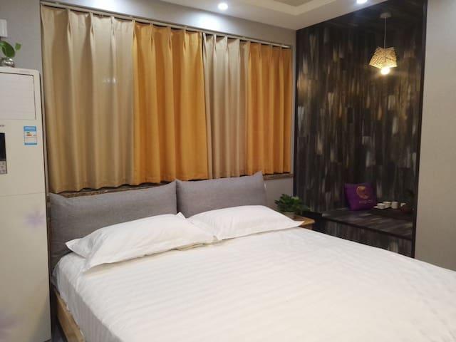 珍珍小寓北欧风情大床房