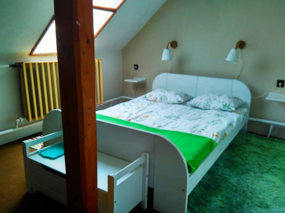 Room No1 with double bed