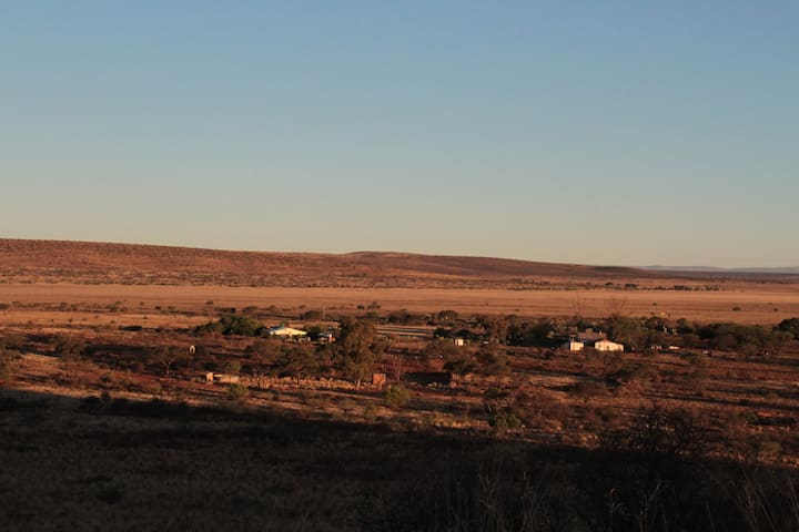 On a farm close to the Kalahari and Witsand