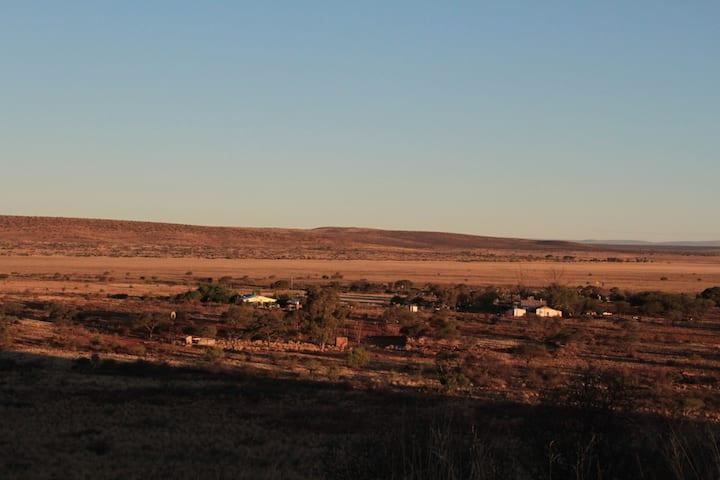 On a farm close to the Kalahari and Witsand