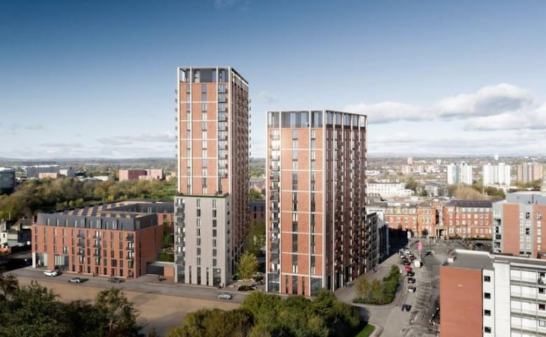 A Brand New Amazing Apartment in Manchester
