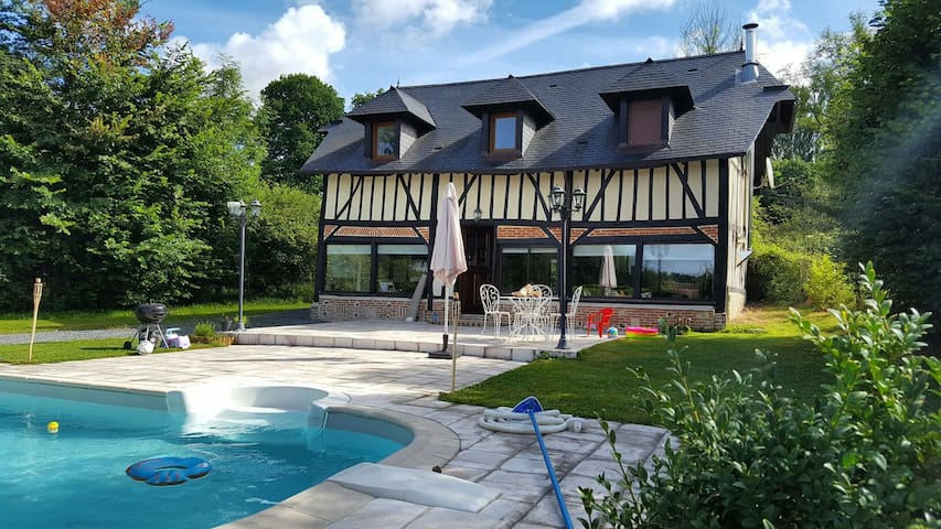 Maison Normande moderne av piscine - Houses for Rent in Bonneville ...