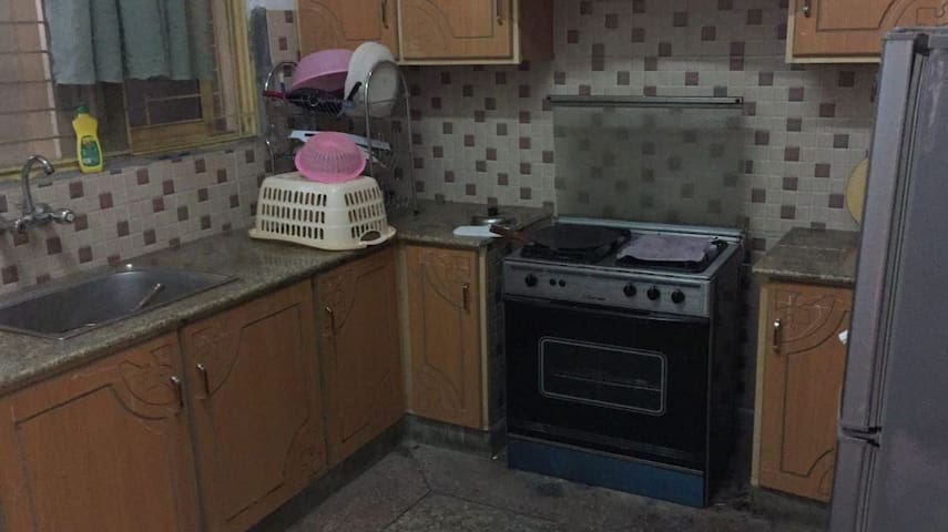 Furnished portion in gulberg near canal road